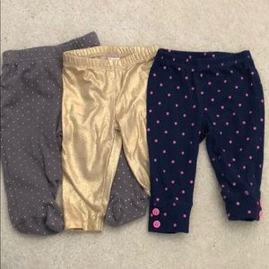Other - Baby girl, pant bundle. 6-9 month